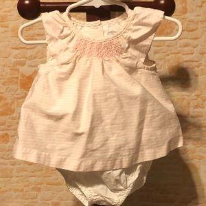 Janie and Jack Candy Floss Dress Set 3-6 Month EUC
